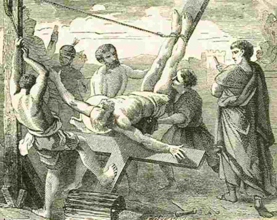 История казни Апостола Петра